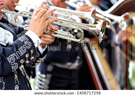 Mariachi, Mexican music. UNESCO recognized mariachi as an Intangible Cultural Heritage. #1408717298