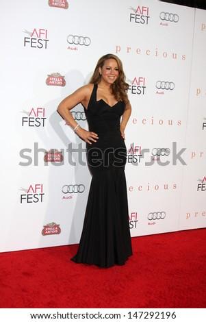 Mariah Carey arriving at the \
