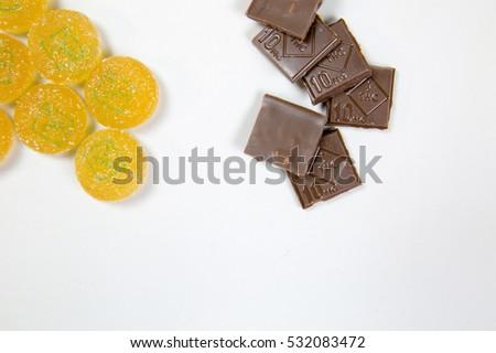 marijuana chocolate and gummy...