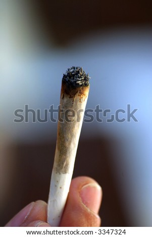 Marijuana cigarette #2