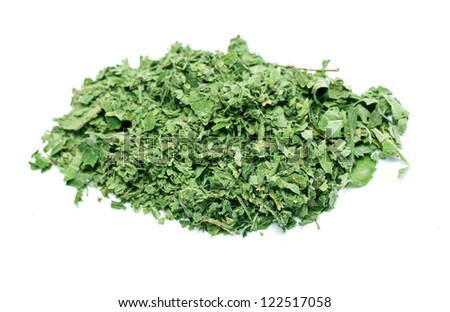 marijuana leaves are ready for use - stock photo