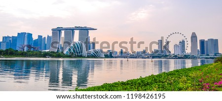 Marina Bay Singapore #1198426195