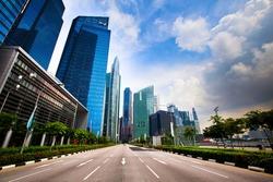 Marina Bay - Singapore business district