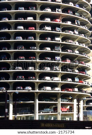 Marina City Tower in Chicago