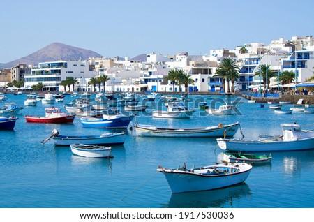 Marina in Arrecife - Lanzarote, Spain Foto stock ©