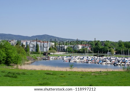 Marina in Oslo Norway