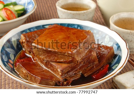Marinated dried tofu - A Popular Chinese food