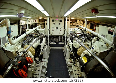 Marine Engine Room