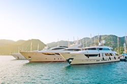 Marine parking of boats and yachts in Turkey