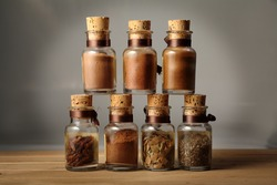 marjoram spices chilli curry sauce for exotic oriental dishes