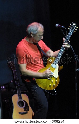 Mark Knopfler -  Dire Straits *** Local Caption *** Editorial, No Release Required