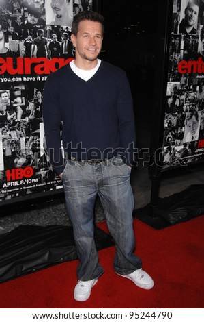 """Mark Wahlberg at the season premiere of """"Entourage"""" at the Cinerama Dome, Hollywood. April 6, 2007  Los Angeles, CA Picture: Paul Smith / Featureflash"""