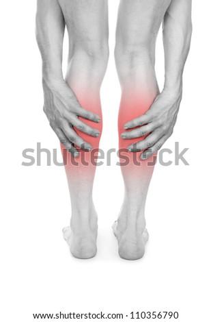 marked in red leg disease