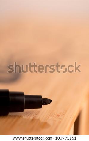 Marker on on Dry Erase Board