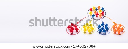 Market Segment And Customer Audience. High Sale People Stock photo ©