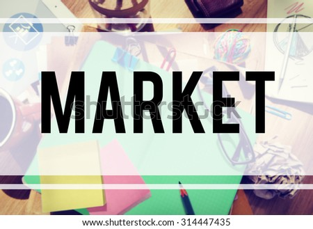 Market Strategy Plan Marketing Vision Concept