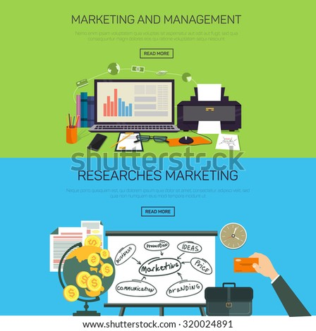 Marketing and management. Research marketing.
