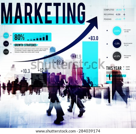 Marketing Market Strategy Planning Business Concept