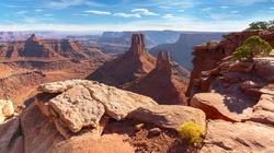 Marlboro point overlook at Canyonlands national park