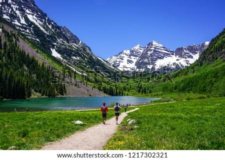 Maroon Bells Aspen, Colorado United States #1217302321
