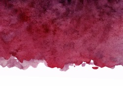 maroon watercolor background, colorful artistic spot