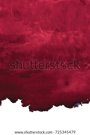 maroon watercolor background, the color of red wine, vertical composition
