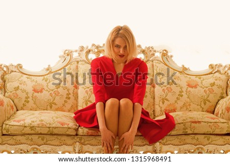 Marriage Agency. woman sit at Marriage Agency on sofa. Marriage Agency services for single and lonely. find your love at Marriage Agency
