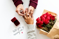 Marriage proposal engagement