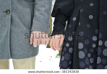 Dating but not holding hands