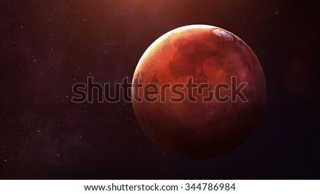 Shutterstock Mars - High resolution best quality solar system planet.  This image elements furnished by NASA.