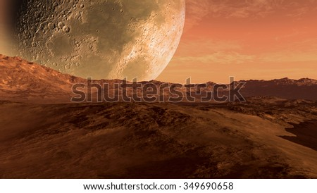 stock-photo-mars-like-red-planet-with-ar