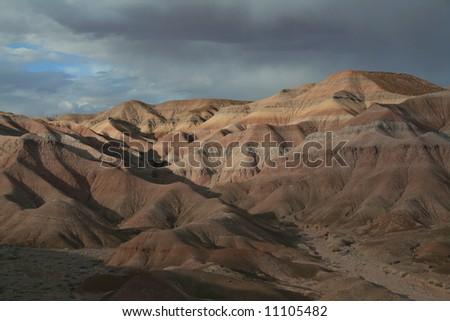 Mars-like Terrain - stock photo