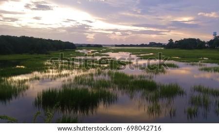 Marsh in the Evening, Charleston SC