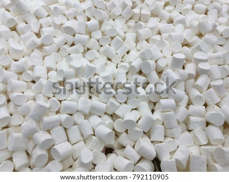 marshmallows textures. marshmallows food background.  #792110905