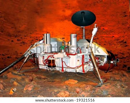 Martian probe, Kennedy space Center, Florida, USA