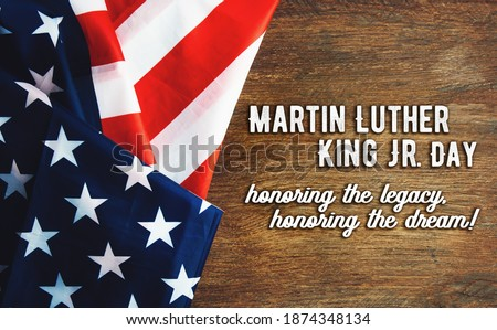 Martin Luther King Day background  Stockfoto ©