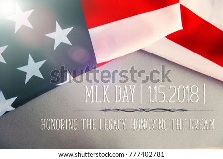 Martin Luther King Day background #777402781