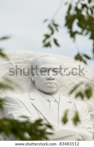 Martin Luther King, Jr Monument in Washington, DC