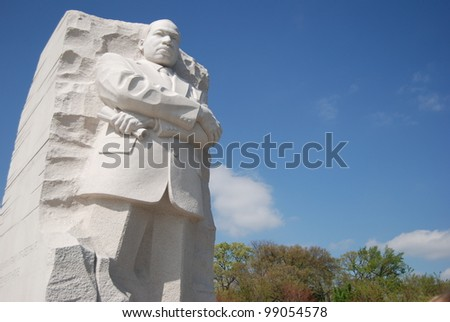 Martin Luther King Memorial in Washington DC