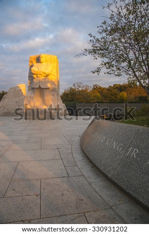 Martin Luther King Memorial, Washington DC.