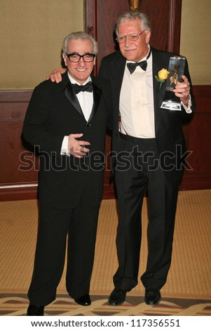 Martin Scorsese and Michael Ballhaus at the American Society of Cinematographers 21st Annual Outstanding Achievement Awards. Hyatt Regency Century Plaza Hotel, Century City, CA. 02-18-07