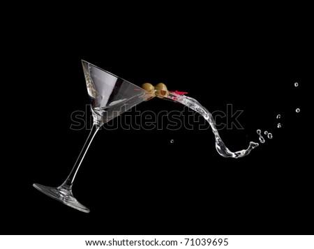 Martini spill
