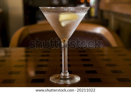 Martini with a Twist with Restaurant B/G