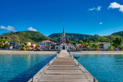 Martinique beach Anse d'Arlet - Caribbean