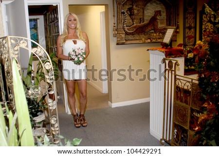 Mary Carey at the wedding ceremony of Mary Carey and Mario Monge. Heavenly Bliss Wedding Chapel, Las Vegas, NV. 07-12-09 Courtesy of