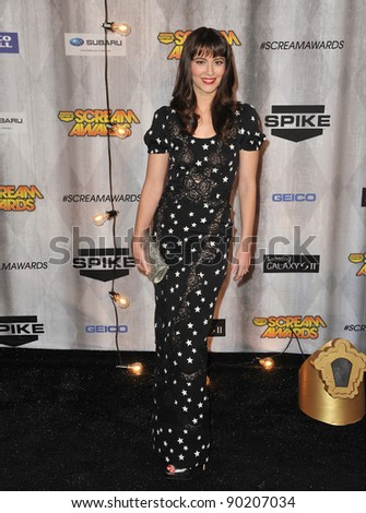 Mary Elizabeth Winstead at the 2011 Spike TV Scream Awards at Universal Studios, Hollywood. October 15, 2011  Los Angeles, CA Picture: Paul Smith / Featureflash