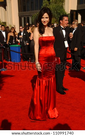 Mary-Louise Parker  arriving at the 59th Annual Primetime Emmy Awards. The Shrine Auditorium, Los Angeles, CA. 09-16-07