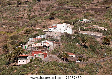 Masca / village in the teno mountains (tenerife / spain)