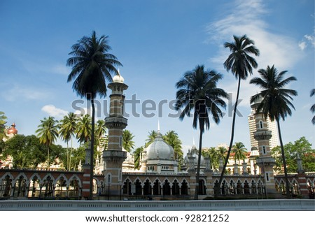 Masjid Jamek - stock photo