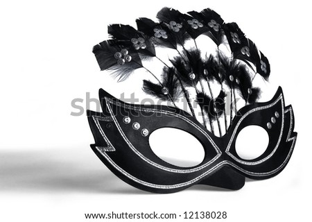 Mask for masquerade and mardi gras